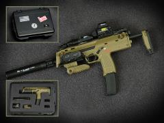 Heckler & Koch MP7 & Pelican Case (Set D) 1/6 Scale Accessory Set