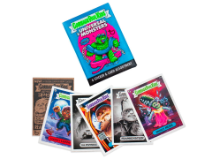 Garbage Pail Kids x Universal Monsters Box of 24 Trading Card Packs (Blue)
