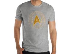 Star Trek Starfleet (Gray) T-Shirt