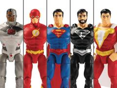 "DC Universe 4"" Wave 1 Set 5 Figures"