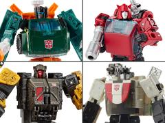 Transformers War for Cybertron: Earthrise Deluxe Wave 1 Set of 4 Figures