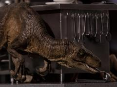 Jurassic Park Velociraptors in Kitchen 1/10 Art Scale Limited Edition Statue