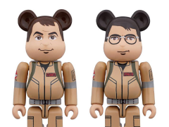 Ghostbusters Bearbricks Ray Stantz & Egon Spengler Two-Pack