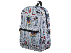 Mobile Suit Gundam All Over Print Backpack