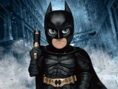 Dark Knight Trilogy Mini Egg Attack MEA-017 Batman With Grappling Gun PX Previews Exclusive