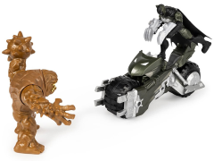 "DC Comics 4"" Batman vs. Clay Face With Batcycle"