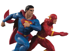 DC Gallery Superman Vs. The Flash Racing Limited Edition Statue (2nd Production Run)