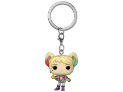 Pocket Pop! Keychain: Birds of Prey - Harley Quinn (Caution Tape)