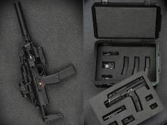 Heckler & Koch MP7 & Pelican Case (Set B) 1/6 Scale Accessory Set