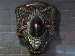 Aliens Alien Warrior Head Trophy 3D Wall Art Sculpture