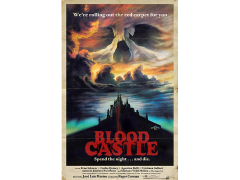 Blood Castle Retro Theatrical Poster Print