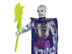Masters of the Universe ReAction Scare Glow (Clear) Limited Edition Figure