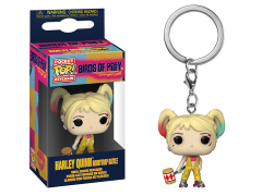 Pocket Pop! Keychain: Birds of Prey - Harley Quinn (Boobytrap Battle)