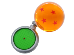 Dragon Ball Z Radar Keychain and Dragon Ball Set