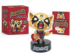 Aggretsuko Figurine With Sound & Book Kit