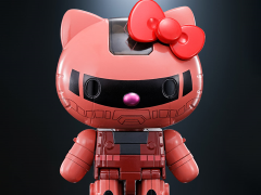 Gundam Chogokin Char's Zaku II x Hello Kitty