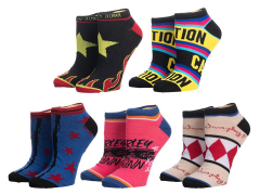 Birds of Prey Ankle Socks Five-Pack