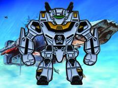 Robotech VF‐1S Veritech Enamel Pin