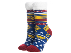 DC Comics Wonder Woman Cozy Slipper Socks