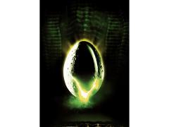 Alien Poster Art Limited Edition Framed Art Print