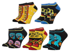 Pac-Man Ankle Socks Five-Pack
