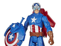 Marvel Avengers Titan Hero Series Blast Gear Captain America Figure