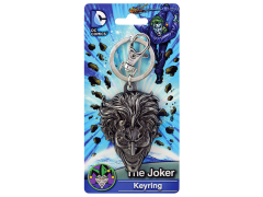 DC Comics The Joker Head Pewter Keychain