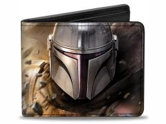 The Mandalorian Bounty Hunter Bi-Fold Wallet
