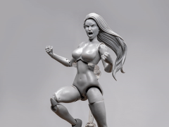 Jane Doe (Gray) Superheroine Deluxe 1/10 Scale BBTS Exclusive Athletic Body