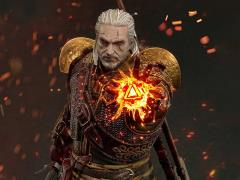 The Witcher 3: Wild Hunt Premium Masterline Geralt of Rivia (Skellige Undvik Armor) 1/4 Scale Statue