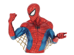 Marvel Spider-Man Metallic Web Pose Bust Bank