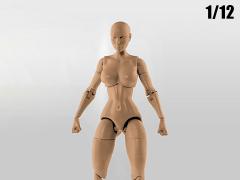 Jane Doe (Tan) Superheroine 1/12 Scale BBTS Exclusive Athletic Body