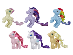 My Little Pony Retro Rainbow Mane Six-Pack
