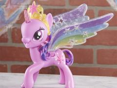 My Little Pony Rainbow Wings Twilight Sparkle Pony Figure with Lights and Moving Wings