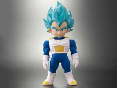 Dragon Ball Retro Sofubi Collection Super Saiyan God Super Saiyan Vegeta