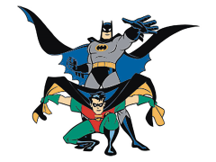 Batman: The Animated Series Batman & Robin Pin