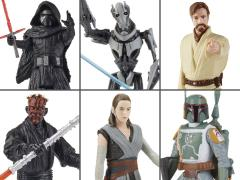 Star Wars Galaxy of Adventures Wave 3 Set of 6 Figures
