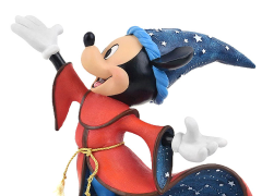 Fantasia 80th Anniversary Disney Showcase Sorcerer Mickey Figurine