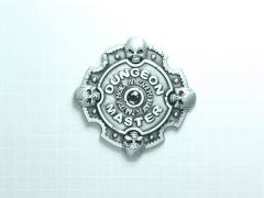Dungeon Master Pin (Silver Smoke)