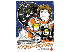 Star Wars Locked on Victory Limited Edition Lithograph