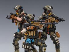 Hardcore Coldplay Hell Skull Paratrooper Squad 1/18 Scale Figure Set