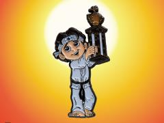 The Karate Kid Daniel LaRusso Enamel Pin