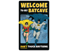 DC Comics Batman Welcome to the Batcave Tin Sign