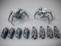 Astrobots A03 Tarantula & Wasp Two-Pack
