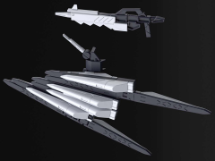 Gundam HGBD:R 1/144 Enemy Gundam's New Weapons (Tentative) Accessory Set