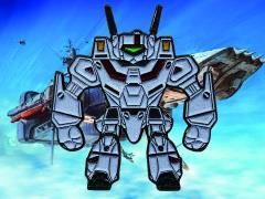 Robotech VF‐1J Veritech Enamel Pin