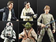 "Star Wars 40th Anniversary The Black Series 6"" Wave 27 Set of 5 Figures"