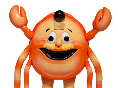 MLB Mascots ReAction Crazy Crab Figure