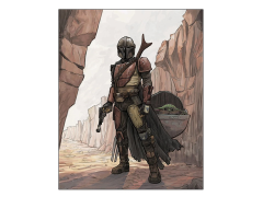 Star Wars The Bounty Hunter Limited Edition Lithograph