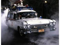 Ghostbusters Ecto-1 Limited Edition Framed Art Print